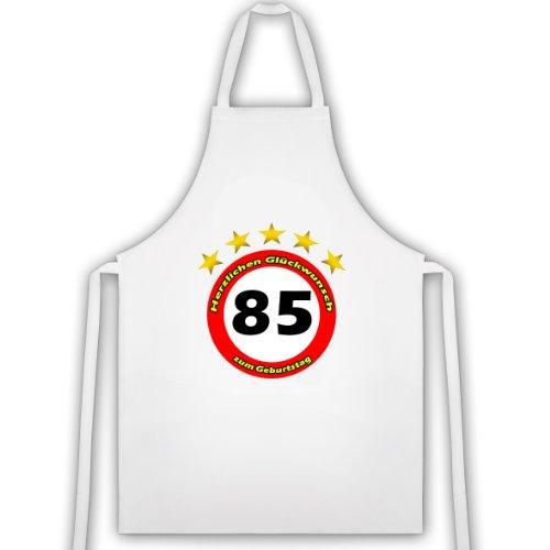 'Tablier de barbecue & Tablier de cuisine pour85 anniversaire. Idée cadeau