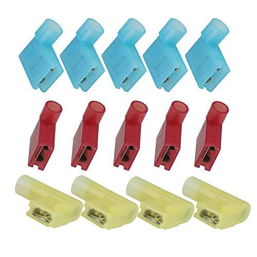 1 per Pack Positive Flag Battery Terminals 2//0 Ga Crimp Supply CECOMINOD059768