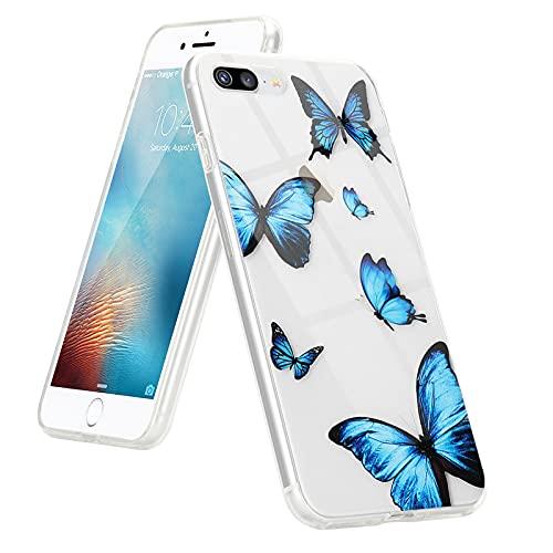 L-FADNUT for iPhone 6 Plus Case iPhone 6S Plus Case Clear Cute Girls Women...