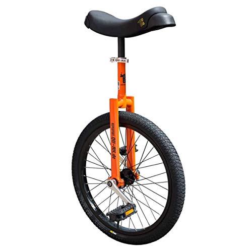 QU-AX Unisex– Erwachsene Luxus Einrad, Orange, One Size
