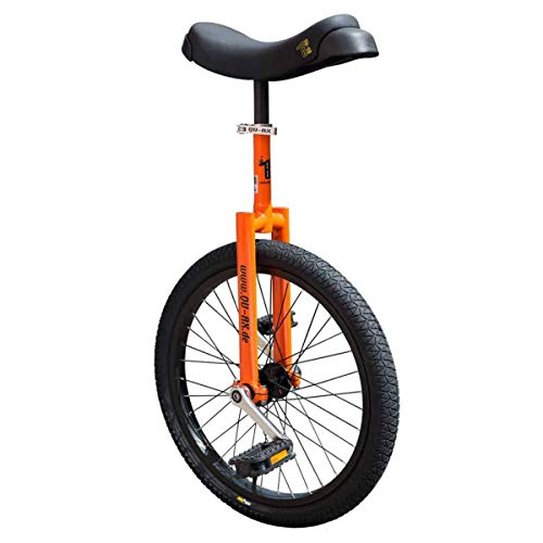 QU-AX Unisex– Erwachsene Einrad, Orange, One Size