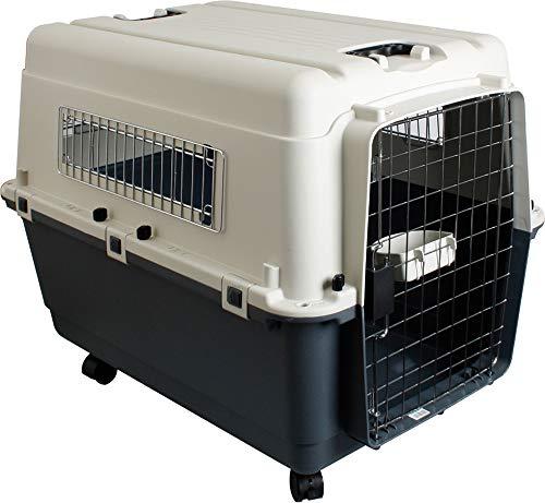 Karlie Nomad Scatola da Trasportosecondo requisiti IATA per il trasporto di animali vivi, XL (90 x 60 x 68 cm), portata massima: 38 kg
