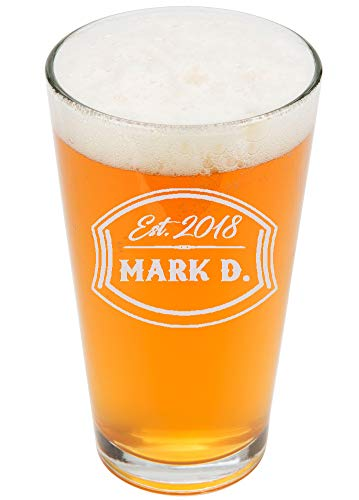 personalized beer glasses - 2