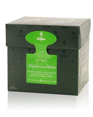 Eilles Tea Diamonds Pfefferminzblätter, Einzelpack 20 x 2g
