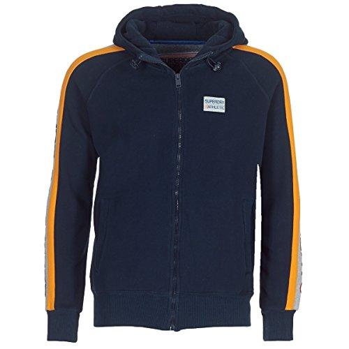 Superdry Trophy Sleeve Panel ZP Sweatshirts und Fleecejacken Herren Marine - XL - Sweatshirts
