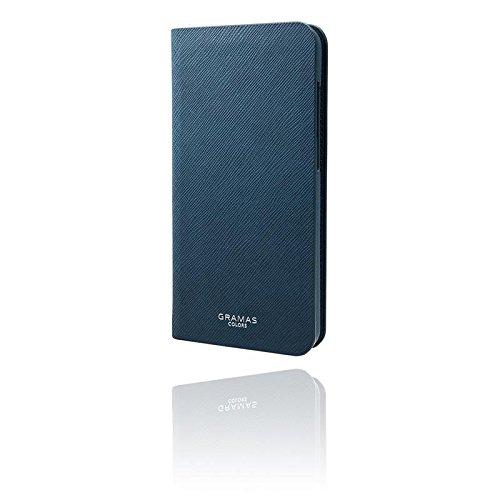 GRAMAS COLORS グラマス EURO Passione 手帳型 手帳 レザー ケース iPhoneケース HUAWEI P10 lite HUAWEI P10 lite ネイビー 高級 ビジネス ギフト