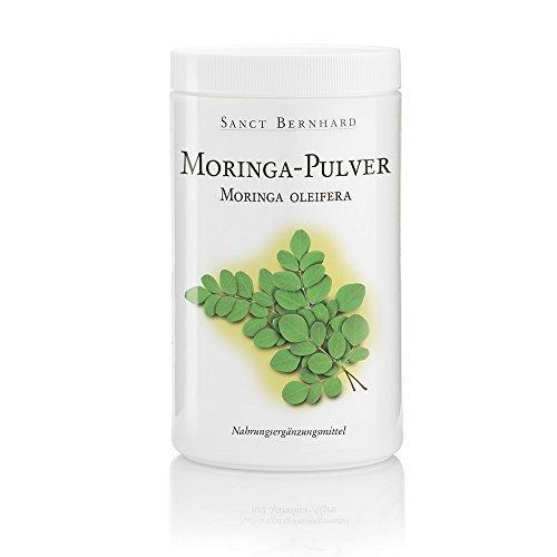Moringa oleifera Polvo 500gr - PREMIUM 100% Moringa oleifera