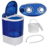 LEMY Mini Baby Washing Machine Portable and Compact Laundry Washer with 8.8lbs Washing Capacity, Single Tub,...