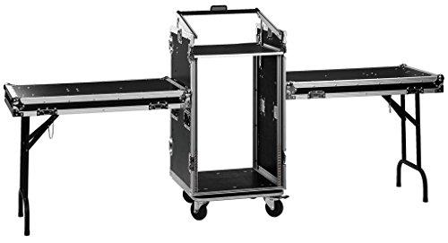 MONACOR MR-162DESK Professionelles Roll-Case für 482-mm-Geräte (19