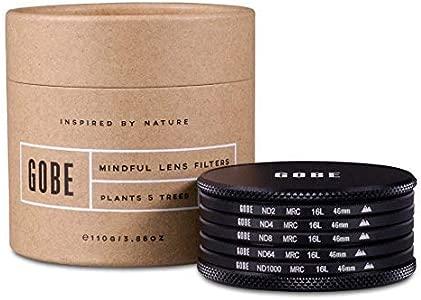 Gobe 46mm ND2  ND4  ND8  ND64  ND1000 Lens Filter Kit  2Peak ...