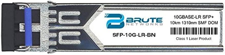 Brute Networks SFP-10G-LR-BN - 10GBASE-LR 10km SMF 1310nm SFP+ Transceiver (Compatible with OEM PN# SFP-10G-LR)