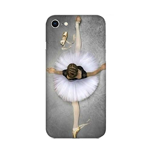 Cover Apple iPhone 6 Danza Che Passione danzatrice Classica spaccata/Custodia Stampa Anche sui Lati/Case Anticaduta Antiscivolo AntiGraffio Antiurto Protettiva Rigida