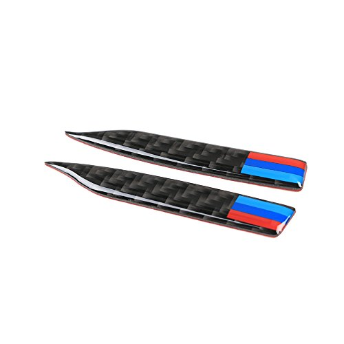 KKmoon Carbon Fiber Rückspiegel Anti-Rub Streifen Schutz für E90 E60 F30 F34 F10 F20 x 1 x3 x 4 x5 x 6 Auto Antikollisionsstreifen