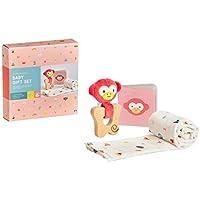 Petit Collage Eco-Friendly Organic Baby Starter 3-Piece Gift Set