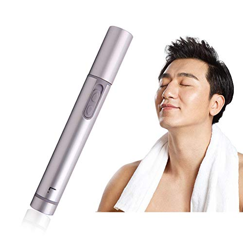 1 STÜCK Tragbare Nase Ohr Nasenhaartrimmer Liberex Elektrischer Nasenhaarschneider Ohrenhaarschneider für Herren und Frauen Batteriebetriebener Nasenhaarentferner