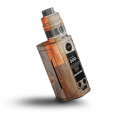 MightySkins Skin Compatible with Wismec Reuleaux RX GEN3 300W - Barn Wood | Protective, Durable, and Unique Vinyl Decal wrap Cover | Easy to Apply, Remove, and Change Styles | Made in The USA