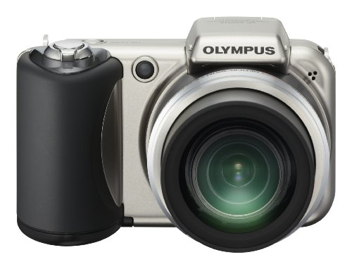 Olympus SP-600UZ 12MP Digital Camera with 15x Wide Angle Dual Image Stabilized Zoom and 2.7 inch LCD (Old Model)