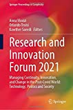 Research and Innovation Forum 2021: Managing Continuity,...