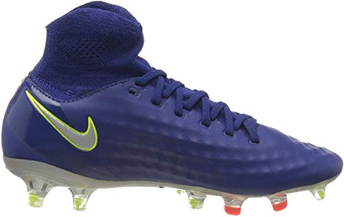 Nike Magista Obra II FG, Zapatillas de Fútbol Unisex Niños, Azul (Blau Blau), 36.5 EU
