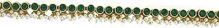 Anuradha Art Green Colour Designer Wedding Kamar-Patta | Belly Chain for Women & Girls