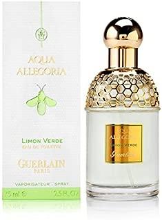 Guerlain Aqua Allegoria Limon Verde EDT Spray for Unisex, 2.5 Ounce