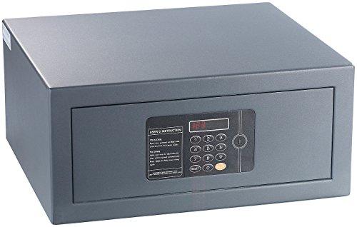 Xcase Notebooksafe: Notebook-Stahlsafe mit digitalem Code-Schloss, LED-Display, 22 Liter (Tresore mit Zahlenschloss)