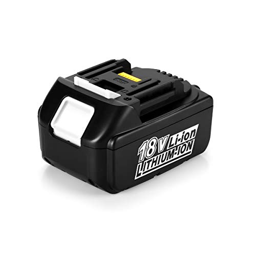 Energup BL1840 18V 4.0Ah Li-ion Ersatz Akku für Makita 18V BL1860 BL1850 BL1840 BL1830 BL1820 BL1815 BL1820B BL1815B LXT400 Werkzeugakkus mit LED Indikator