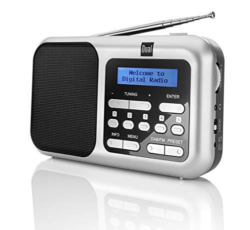 Dual DAB 4.2 – Portables DAB+/UKW Radio mit Kopfhöreranschluss, 76296