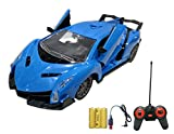 Popsugar Lamborghini 1: 20 Door Opening Car with Rechargeable Battery and Charger RC