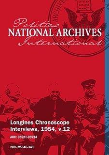 Longines Chronoscope Interviews, 1954, v.12: Val Peterson, Stephen A. Mitchell
