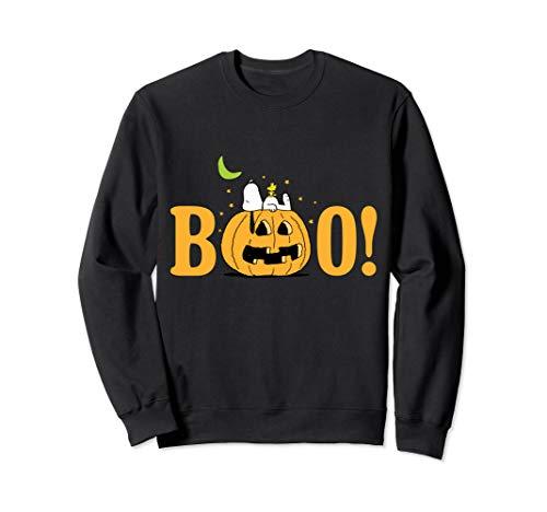 Peanuts Halloween Boo Kürbis Sweatshirt
