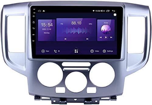 Android 10 Car Radio de Navegación GPS para Nissan NV200 2010~2018 con 9 Pulgada Pantalla Táctil Support FM Am RDS DSP/MP5 Player/BT Steering Wheel Control/Carplay