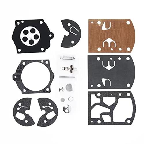 xiaoxioaguo Kit de reparación de carburador para Homelite 650 750 FP100 Walbro K10-WB Series WB-24, WB-25, WB-32, WB-33 WB-35 para reemplazar piezas