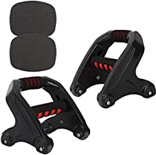Ab Roller Wheel, Hand Grip Strengthener, Abs Workout Equipment voor Abdominal & Core Strength Training, Ab Machine met Kni...