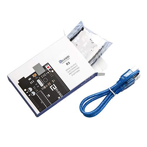 『ELEGOO Arduino用UNO R3コントロールボード ATmega328P +USBケーブル』の8枚目の画像