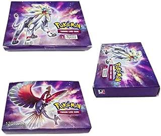 120 Pcs Pokemon EX GX MEGA Trainer Energy cards(120GX) -m182