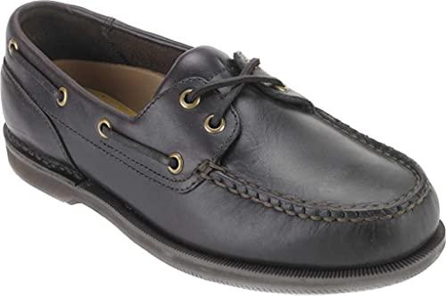 Rockport - Herren Perth Schuhe, 44 EU, Dk Brown Pul