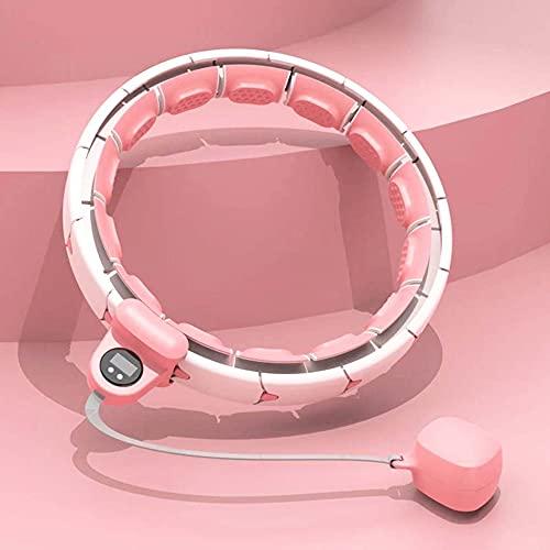 Hula hoop ajustable inteligente, masaje en el hogar para bajar de peso y aro de fitness para la cintura, adecuado para principiantes trabajadores de oficina madres posparto etc. / A/M