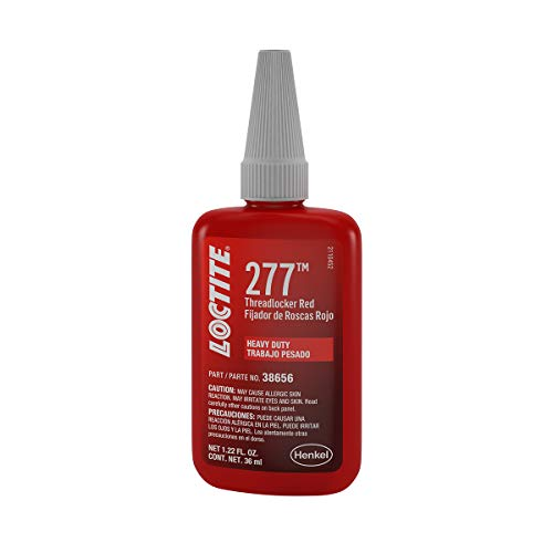 Loctite 38656 Threadlocker 277 HD Red Big Bolts 36ml/1.22oz