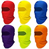 Soft material: the balaclava cover is made of polyester fabric, breathable fabric allows you to wear it in summer without feeling sultry, and the soft features make you comfortable to wear Elastic design: each UV protection full-face cover is soft an...