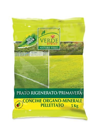 VERDE VIVO Concime pellettato Prato rigenerato Primavera kg 5