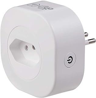 Tomada Inteligente Wi-Fi 10A I2GO Home - Ligue ou Desligue Seus Eletrodomésticos Através do Celular - Compatível com Alexa
