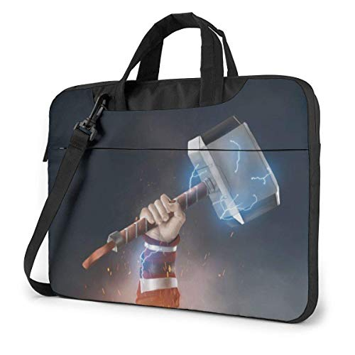 Thor's Hammer Laptop Sleeve Laptop Bag Tablet Briefcase Ultraportable Protective Handbag Oxford Cloth-for MacBook Pro/MacBook Air/Notebook Computer 13 Inch