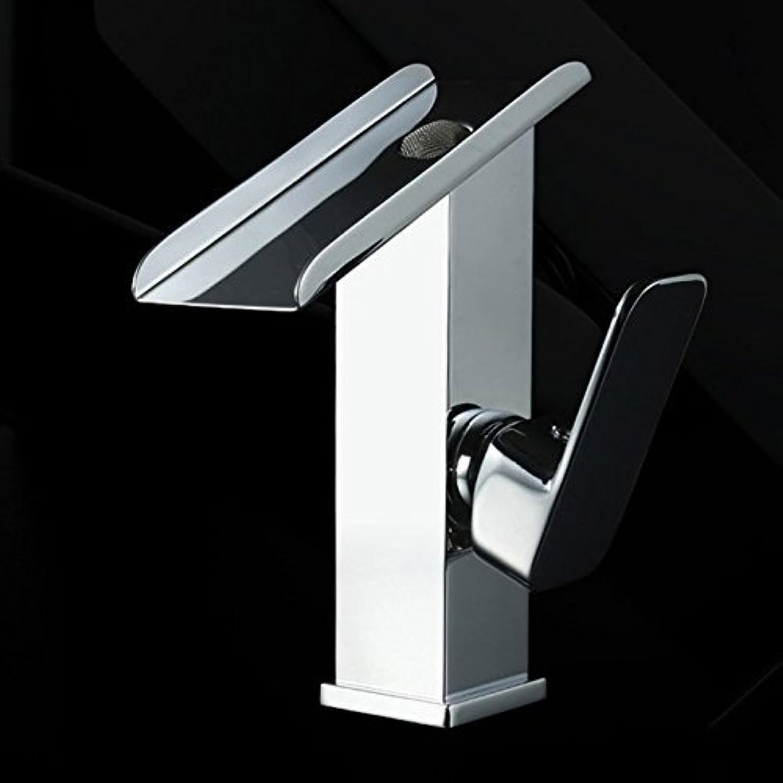 Chrome tap it on The Bridge Assemblies Bath Rooms Sinks Faucet Single Hole Faucet Waterfall Faucet Water tap