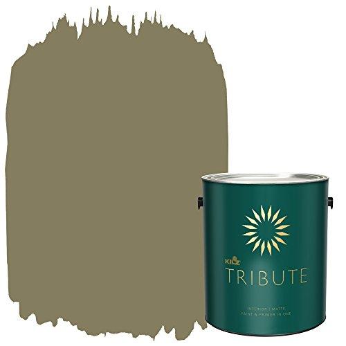 KILZ TRIBUTE Interior Matte Paint and Primer in One, 1 Gallon,...