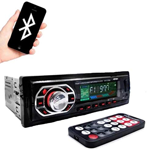 Som Automotivo Bluetooth Mp3 Player USB SD Som Carro KP-C17BH