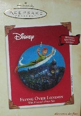 Hallmark Keepsake Ornament Disney Flying Over London Peter Pan