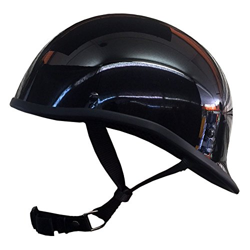 Reversible Motorcycle Helmet, Smallest, Lightest, Low Profile Beanie, DOT certified. All Crazy BADASS Harley Riding Badboys Love It. Twister (TGXXS) Micro DOT