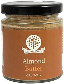 Nutural World - Mantequilla de almendra crujiente (170g