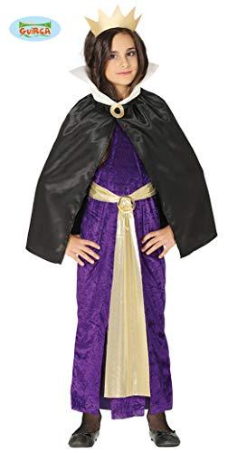FIESTAS GUIRCA Disfraz Reina Bruja Malvada niña Talla 10-12 años